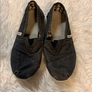 TOMS Slip-on Shoes Dark Denim